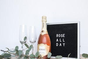 Rose All Day Styled Photo