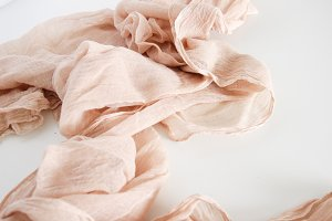 Romantic Blush Linen - Styled Photo