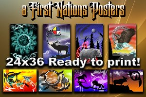 High Res. First Nations Posters