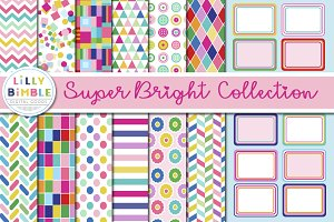 Super Bright Digital Paper & Labels