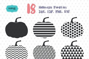 18 Halloween pumpkin designs vol.1