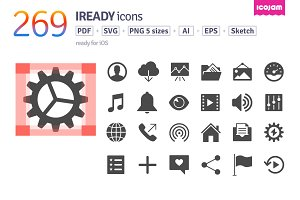269 iReady icons