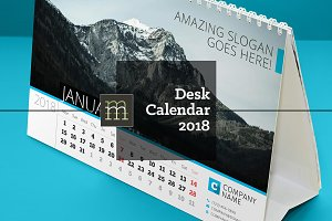 Desk Calendar 2018 (DC013-18)