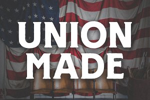 UNION MADE FONT