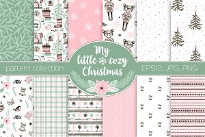 Merry Christmas pattern kit
