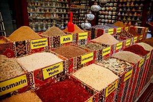 Spice shops Turkey