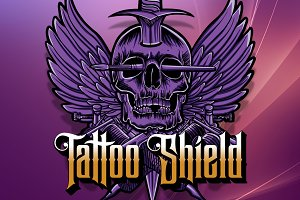 Tattoo Shield Vector
