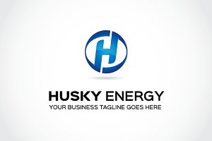Husky energy Logo Template