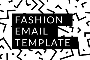Fashion Email Template | PSD + HTML