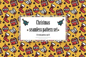 Christmass pattern set