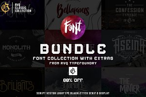 Rvq classic collection (font bundle)