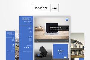 Kodra - Creative HTML Portfolio