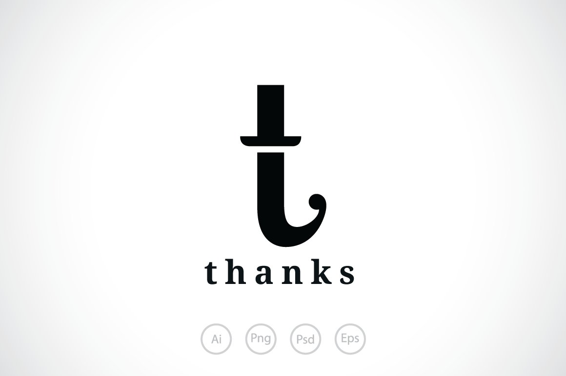 Letter T Hat Logo Template Templates Creative Market