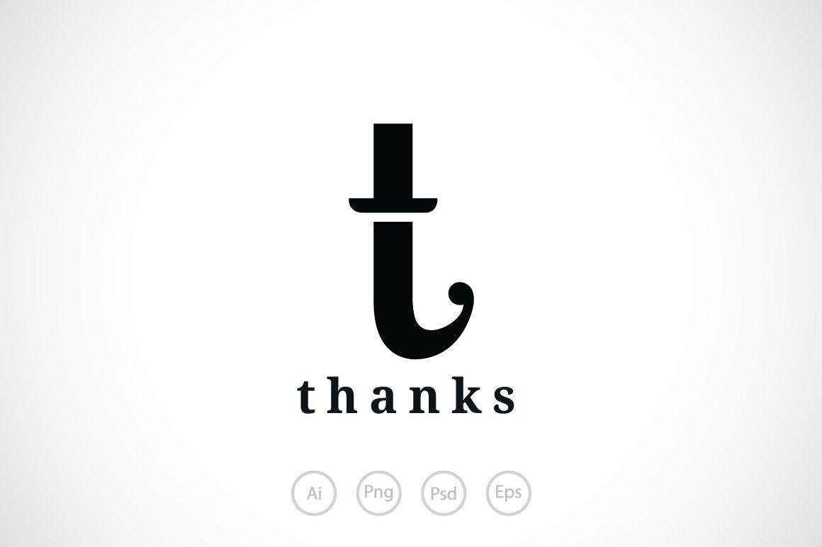Letter T Hat Logo Template Templates Creative Market
