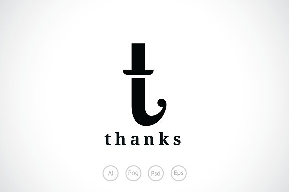 letter t hat logo template logos