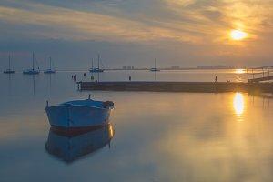 Sailing on the Mar Menor
