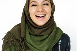 Middle Eastern woman in hijab