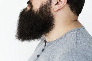 Caucasian man portrait