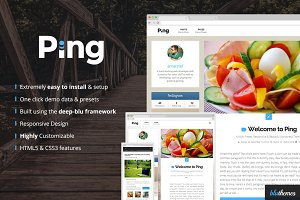 Ping | Charming Personal WP Theme