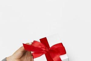 Valentine Gift Box Surprise Hands