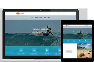 Summer – HTML5 and CSS3 Template