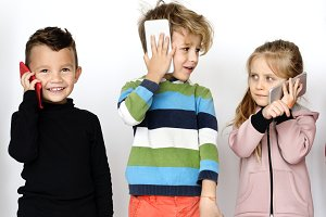 Kids shoot