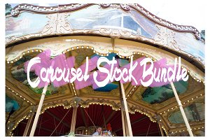 Carousel Stock Photography Bundle