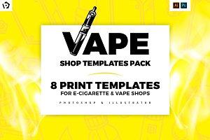 Vape Shop Templates Pack