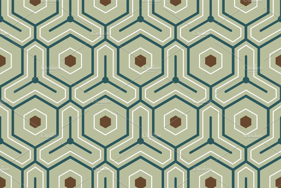 Vintage geometric pattern
