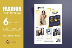 Fashion Promotion Flyer Template
