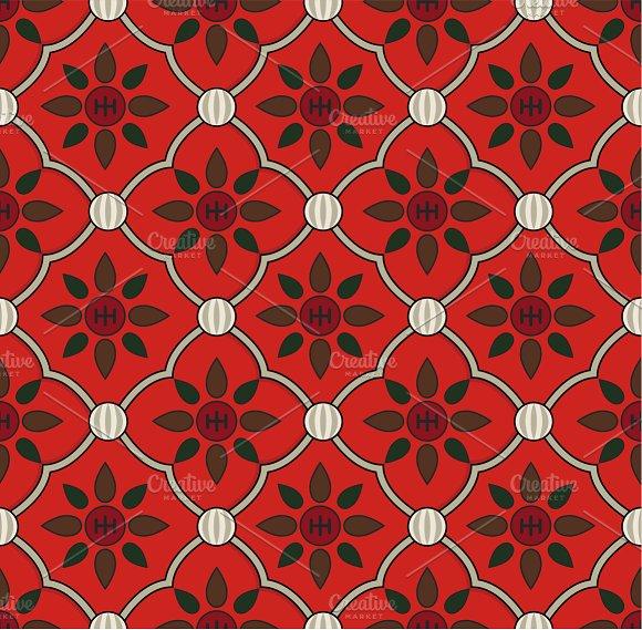Vintage floral pattern in Illustrations