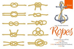 Ropes and Knots Set