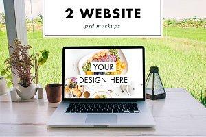 Web PSD Mockup Suite