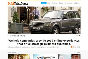 WebBusiness Business Portfolio Theme