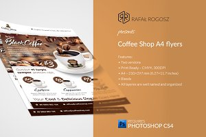 Coffee Shop Flyer Templates