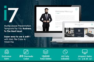 i7 Business Presentation Template