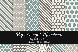 Patterned Paper - Come away with me