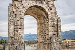 Arch of Caparra, Caceres, Spain