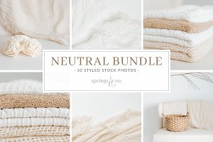 Neutral Styled Stock Photo Bundle
