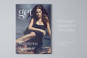 Get Magazine Template
