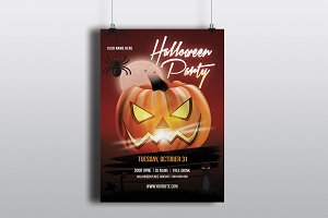 Halloween Party Flyer V632