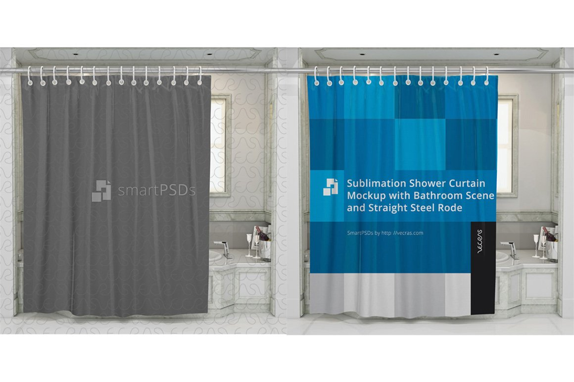 MampS Shower Curtain