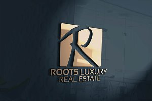 Roots Luxury / R Letter Logo