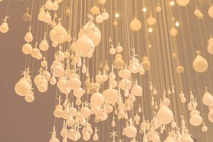 Lighting decorate concept