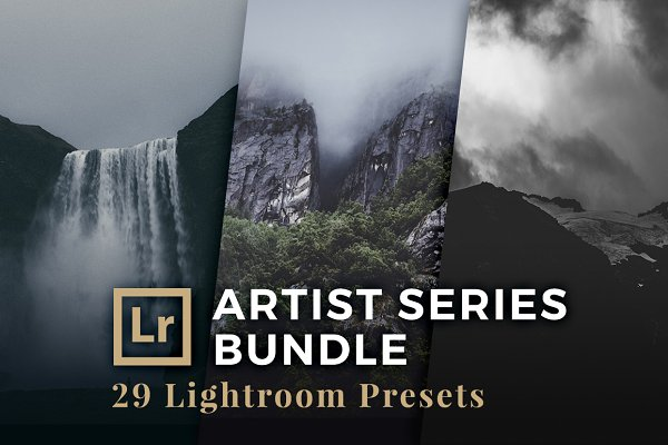 Artist Series Pack Lightroom Preset…