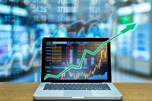 business marketing trade concept