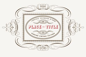 Vintage Vector Labels  N°3