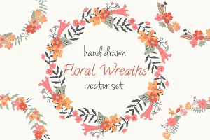 Floral Wreaths Pack