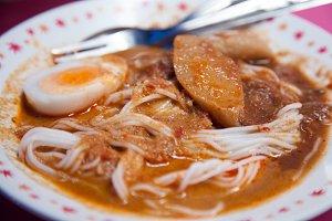 Thai noodles.