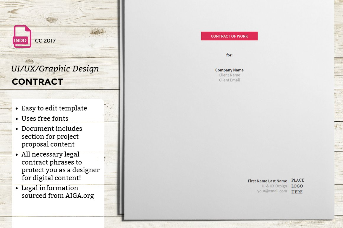 UI/UX/Graphic Design Contract ~ Presentation Templates ~ Creative Market